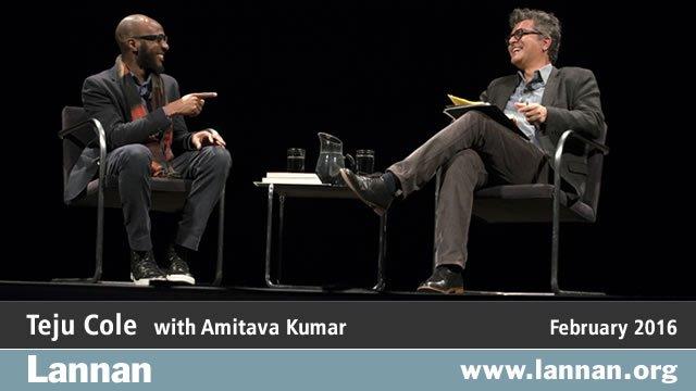 Teju Cole with Amitava Kumar, 3 February 2016